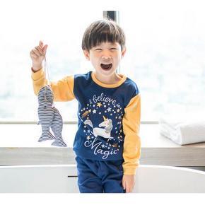 多款可选# 跃童莱 男女童纯棉秋装套装 29.9元包邮