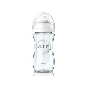 飞利浦 AVENT 新安怡 婴儿玻璃奶瓶 240ml 66.7元(59+7.7)