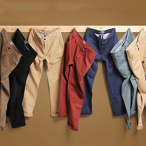 前2小时# vandesail 男士秋季休闲中腰长裤 2条 59元包邮(拍2免1)