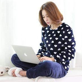 岩石草 秋冬季珊瑚绒套头睡衣 20款可选 29.9元包邮(49-20券)