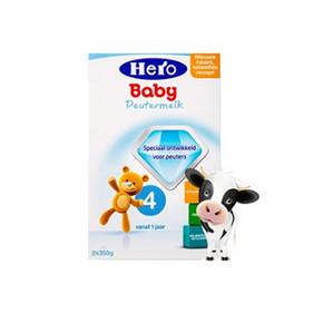 荷兰美素 Hero Baby 婴儿奶粉 4段700g 78元包邮