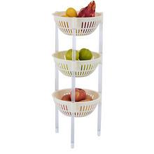 微佳达 塑料蔬菜水果厨房三层置物架 28元包邮(38-10券)