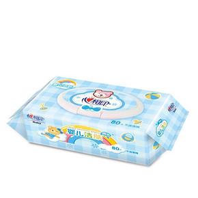 心相印 优选婴儿洁肤湿巾80片 5.9元
