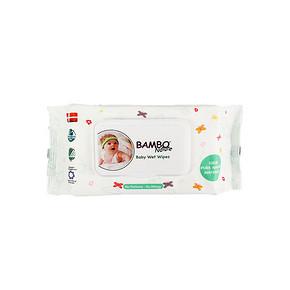 BAMBO 班博 自然系列 宝宝水润婴儿卫生湿纸 100片 10元