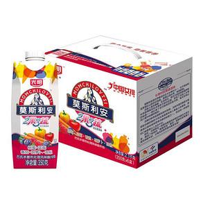 前3分钟# 光明 莫斯利安 混合果蔬红色款 350g*6盒 38.9元包邮(56.9-18)