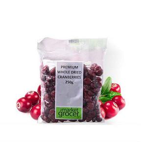 前3分钟半价# The Market Grocer 蔓越莓干 250g 28.8返14.4元