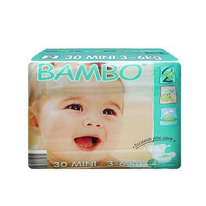 BAMBO 班博 绿色生态 婴儿纸尿裤 2号 30片 19.9元