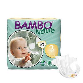 BAMBO 班博 Nature 自然系列 S33x2件 79元包邮(买1送1)