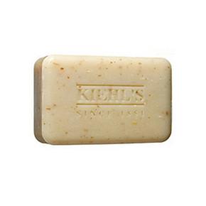 滑溜溜# Kiehl's 科颜氏 男士燕麦磨砂皂 90g 59元(2件包邮)