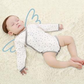 特贝尔 婴幼儿纯棉连体衣   19元包邮(29-10券)