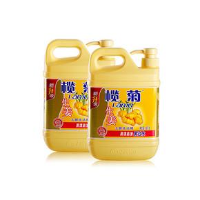 前3分钟半价# 榄菊 生姜洗洁精 1.18kg*2瓶 0点 9.2元包邮(18.4-9.2)