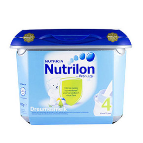 诺优能 Nutrilon 4段幼儿配方奶粉 安心罐 800g 99元(2件包邮)
