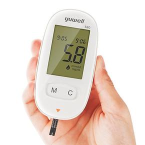 预防高血糖# 鱼跃 全自动智能血糖测试仪 39元包邮(99-60券)