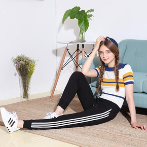 CC U KNOW 韩版潮显瘦哈伦裤 24.9元包邮(54.9-30券)