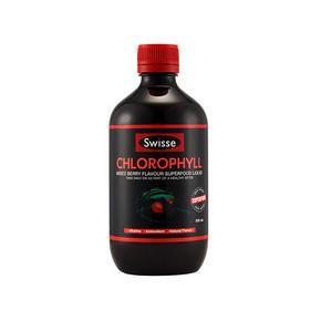 澳洲进口 Swisse 梅子味叶绿素液 500ml 54.4元(48+6.4)
