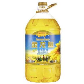手慢无# 金龙鱼 葵花籽油 4L 9.9元(日常49.9元)
