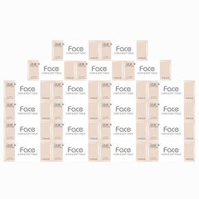 洁柔 Face系列抽纸 3层*120抽*21包 42.6元包邮(52.6-10券)
