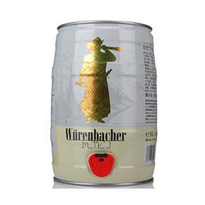聚会最爱# Würenbacher 瓦伦丁 小麦啤酒 5L 69元