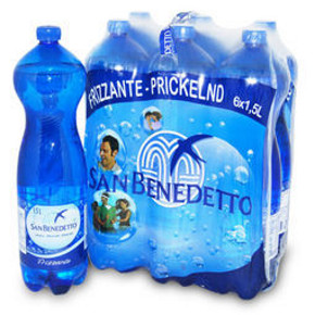 San Benedetto 圣碧涛 天然充气矿泉水 1.5L*6瓶 29.9元