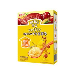 Heinz 亨氏 金装智多多猪肝红枣营养面条 336g 折16.6元(26.6,99-40)