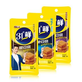 前2分钟# 盐津铺子 鱼豆腐 20包*2盒  0点 折16元(买2免1)