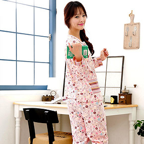 雪俐 女款家居服睡衣套装 58元包邮(88-30券)
