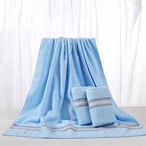 前3分钟半价# 孚日洁玉 纯棉浴巾*1条+毛巾*2条 9日0点 19.5元包邮(39-19.5)