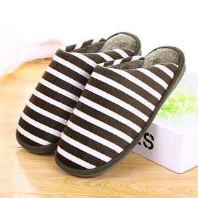 居家经典# 火轮 情侣厚底防滑保暖棉拖鞋 7.9元包邮(12.9-5券)