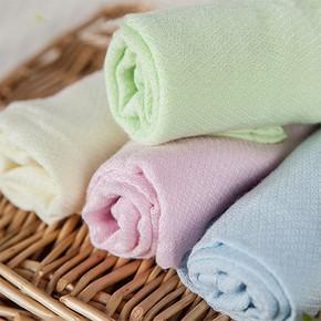秒杀预告# 艾茵美 竹纤维凉感枕巾小方巾 0点 1元包邮(限量1000件)