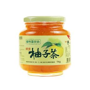 韩国进口 韩国农协 蜂蜜柚子茶 1000g 折19.9元(39.9,199-100)