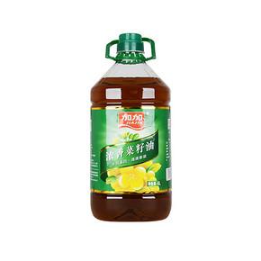 加加 非转基因浓香菜籽油 4L 39.9元