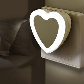 告别摸黑# 唯优 LED 光控感应小夜灯 2个装 2元包邮