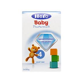 Herobaby 天赋力 婴儿配方奶粉 4段 700g 折84元(3件95折+税)