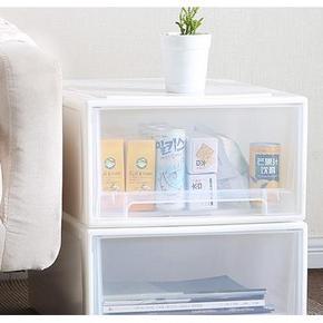 收纳好物# 桑代 塑料透明抽屉式收纳盒 5L 10.1元包邮(20.1-10券)