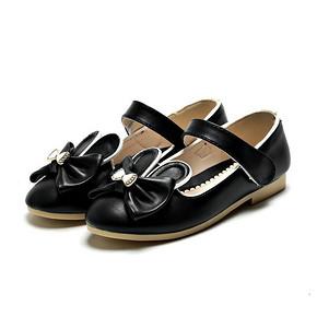 班妮宝贝 女童黑色时尚皮鞋 39.9元包邮(79.9-40券)
