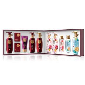 LG 睿嫣礼盒3号 11件套+美丽礼盒1号 10件套 213.9元(209+24.9-20券)