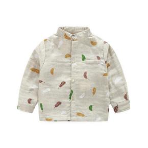 比尔 韩版婴幼儿春秋长袖衬衫 29元包邮(49-20券)