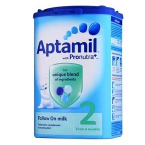 英国 Aptamil 爱他美 美乐宝婴儿奶粉 2段 900g 63元包邮