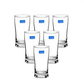 泰国进口# Ocean 透明玻璃杯子 6只 19.9元包邮(39.9-20券)