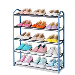 冠达星 多层简易不锈钢鞋架 9.9元包邮(19.9-10券)