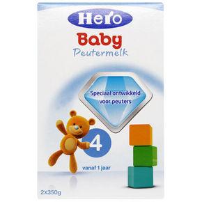 Herobaby 天赋力 婴儿配方奶粉 4段 700g 折79.6元(3件95折+税)