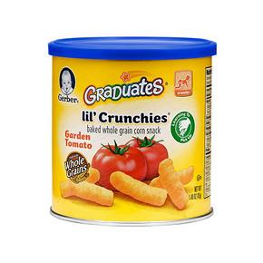 Gerber 嘉宝 婴幼儿手指泡芙 田园番茄味 42g*11罐 122元(209-100+13)