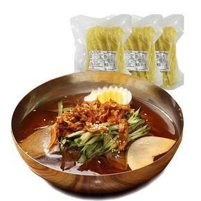 韩国美食# 悠美嘉 速食冷面 500g*3袋 15.9元包邮(20.9-5券)