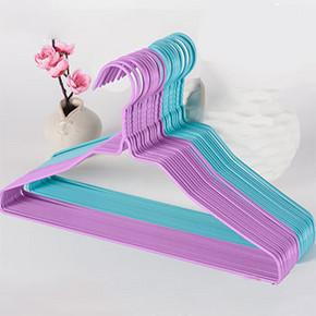 家居必备# 星和良品 浸塑干湿两用防风晾衣架 20个 9.9元包邮(12.9-3券)