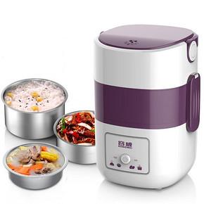 容威 三层加热电热饭盒 1.9L 39.9元包邮(49.9-10券)