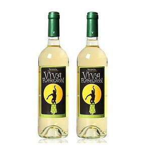 Viva Flamenco 弗拉明戈 半甜白葡萄酒 750ml*4瓶 128元包邮(69*2-10券)