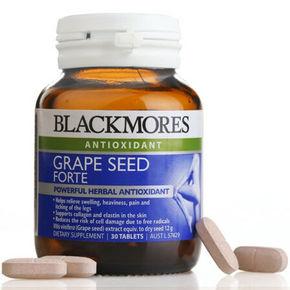 拼单好价# Blackmores 澳佳宝 葡萄籽精华 30粒 折69.9元(79,199-50)