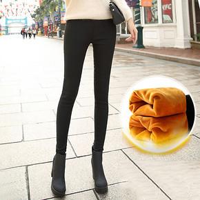 折12.4元/件# 布思恋 加绒加厚女士外穿打底裤*2件 24.8元包邮(39.8-15券)