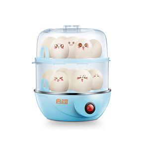 早餐好帮手# 启福 多功能双层不锈钢蒸蛋器 14.9元包邮(19.9-5券)