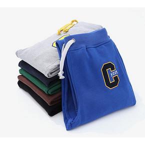 给可爱的男孩子# 鸭子侦探 儿童深秋纯棉运动裤 24元包邮(64-40券)